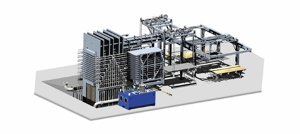 Производственный комплекс HPL панели