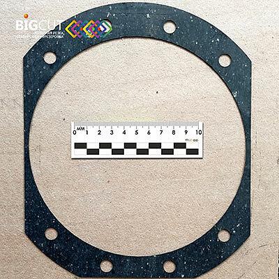 Прокладки размером 282,5*285 мм из паронита 0,5 мм.